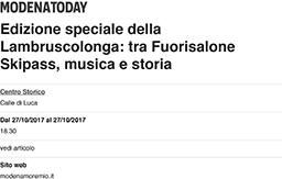 19 Ottobre 2017 - ModenaToday.it