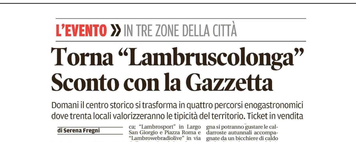 26 Ottobre 2017 - Gazzetta di Modena