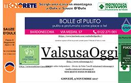 31 Ottobre 2017 - Valsusaoggi.it