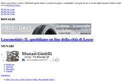 1 Novembre 2017 - Lecconotizie.com