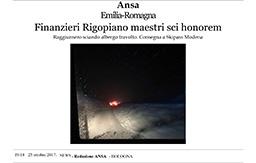 27 Ottobre 2017 - Ansa