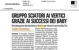 27 Ottobre 2017 - Corriere Adriatico