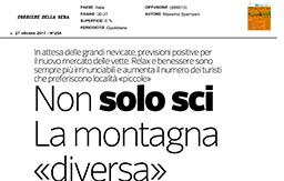 27 Ottobre 2017 - Corriere della Sera
