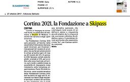 27 Ottobre 2017 - Il Gazzettino Belluno