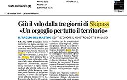 28 Ottobre 2017 - Il Resto Del Carlino (Modena)