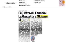 28 Ottobre 2017 - La Gazzetta dello Sport