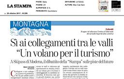 29 Ottobre 2017 - La Stampa