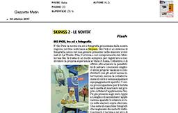 30 Ottobre 2017 - Gazzetta Matin