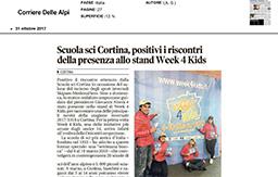 31 Ottobre 2017 - Corriere delle Alpi