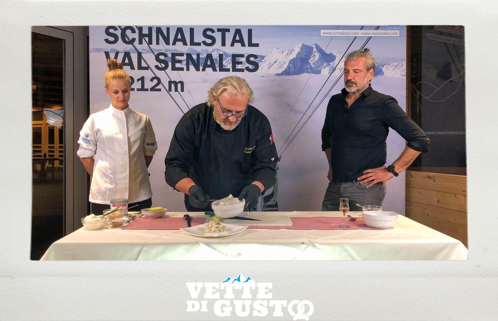Vette di gusto Val Senales Latte di neve